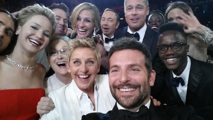 Ellen's Oscar's Selfie