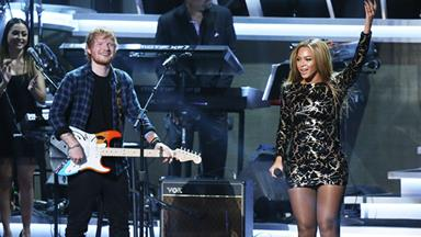 Watch Beyoncé's incredible performance with Ed Sheeran
