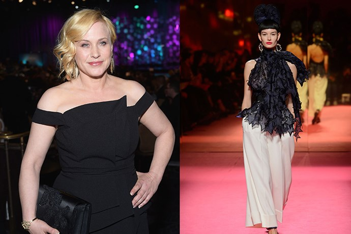 "Celebrity: Patricia Arquette Nominated for: Best Actress, Boyhood What we predict she might wear: <a href=""http://www.elle.com.au/runway/haute-couture/ss15/2015/1/schiaparelli-haute-couture-ss15/"">Schiaparelli Haute Couture SS15</a>"