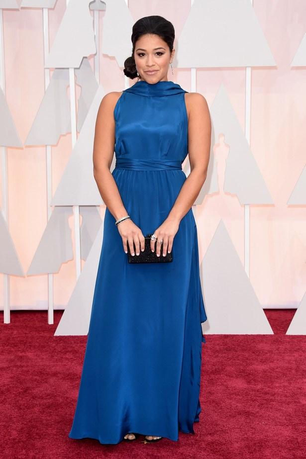 <em>Jane The Virgin</em> star Gina Rodriguez in Suzy Amis Cameron