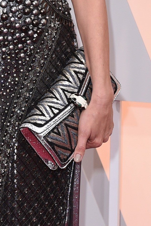 Add to wishlist: Laura Dern's Bulgari clutch