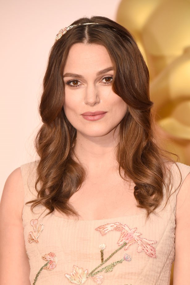 <p><strong>The Berry Lip</strong></p> Keira Knightley wore a muted matte lipstick.