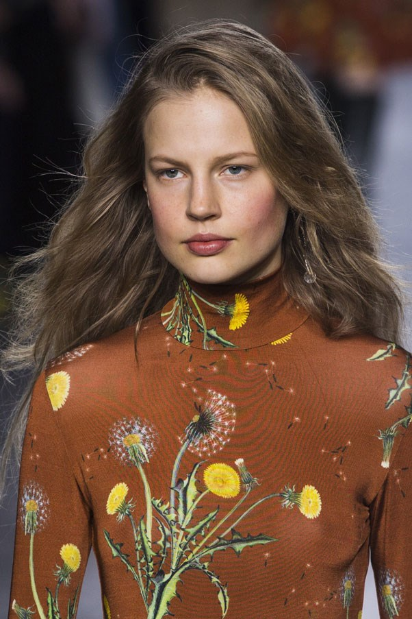 The wild hair from the Topshop Unique runway