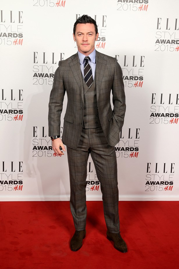 Luke Evans at the ELLE Style Awards