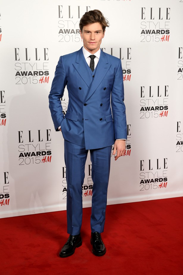 Oliver Cheshire at the ELLE Style Awards