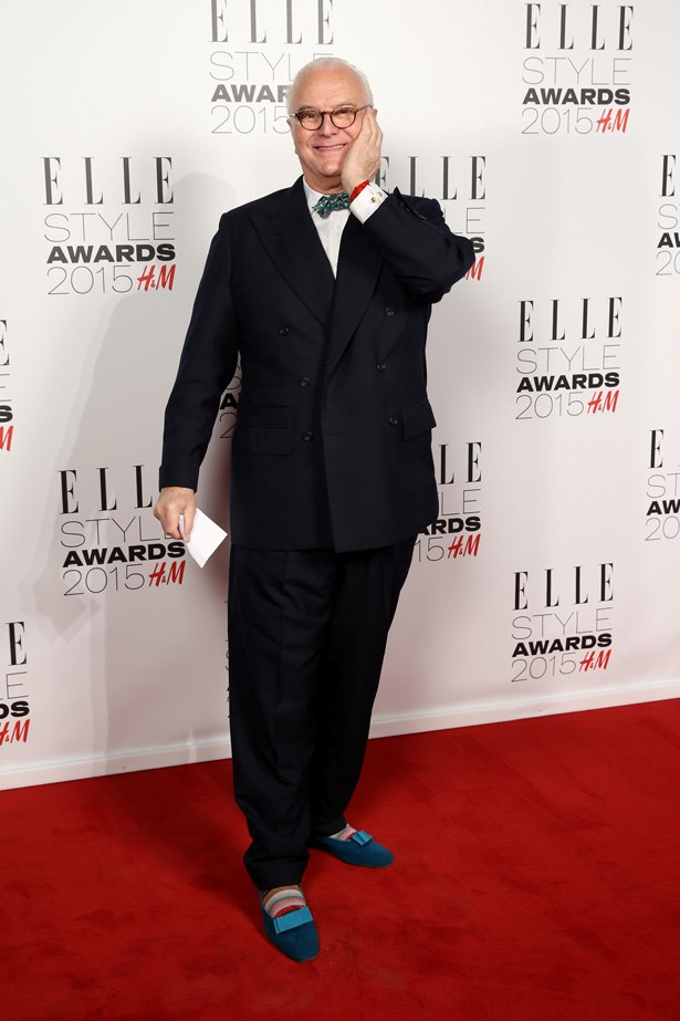 Manolo Blahnik at the ELLE Style Awards