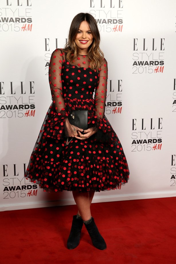 Atlanta de Cadenet at the ELLE Style Awards