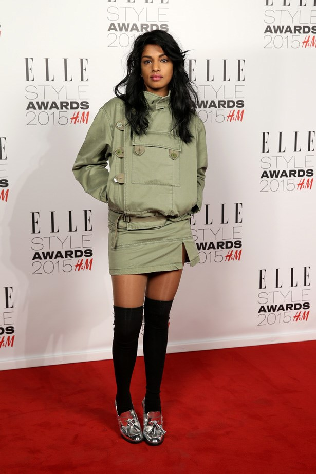 M.I.A. at the ELLE Style Awards