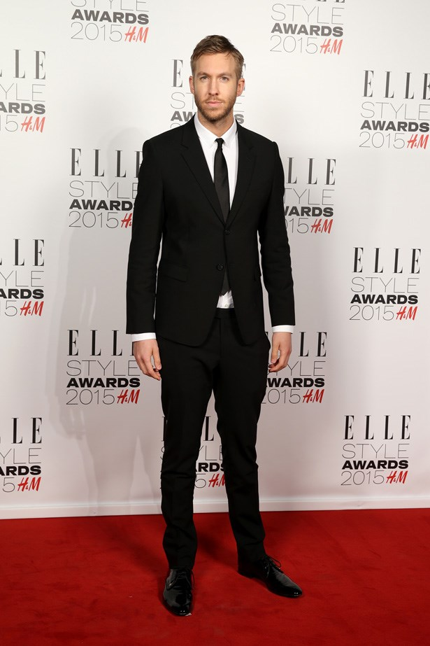 Calvin Harris at the ELLE Style Awards
