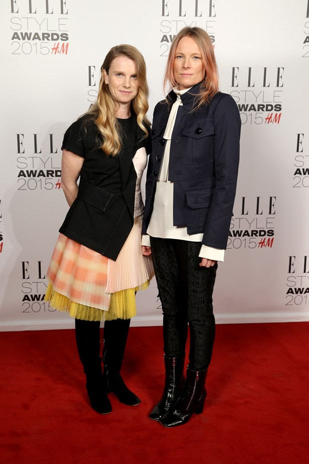 MARC by Marc Jacobs Designers Katie Hillier and Luella Bartley at the ELLE Style Awards