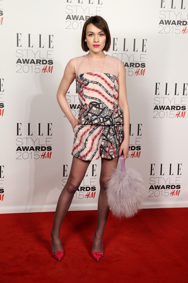 Ella Catliff at the ELLE Style Awards