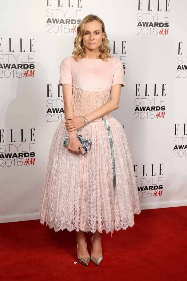 Diane Kruger at the ELLE Style Awards
