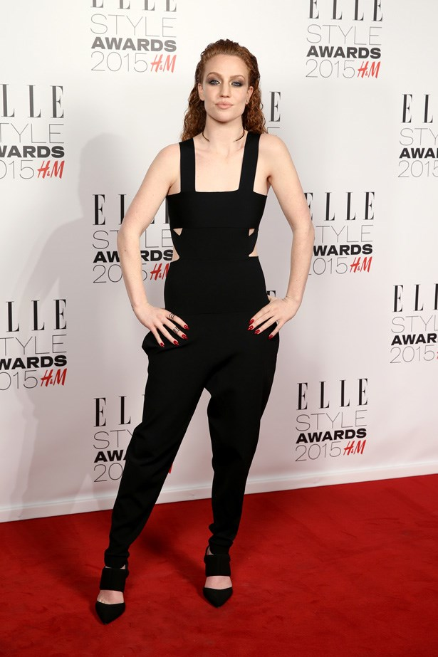 Jess Glynne at the ELLE Style Awards