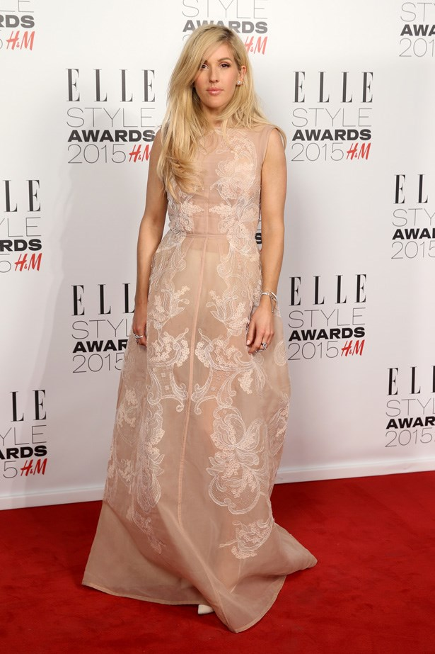 Ellie Goulding at the ELLE Style Awards
