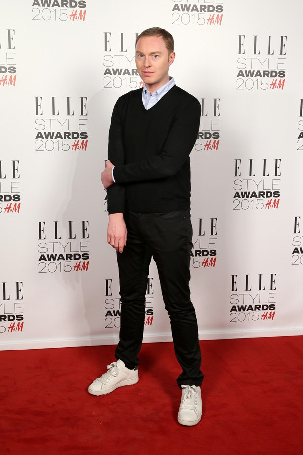 British designer Stuart Vevers at the ELLE Style Awards