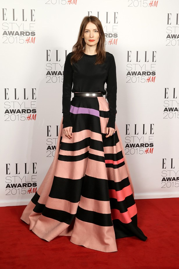 Fashion designer Roksanda Ilincic at the ELLE Style Awards