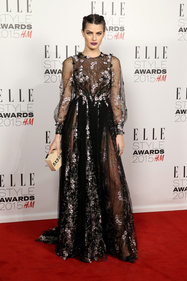 Isabeli Fontana at the ELLE Style Awards