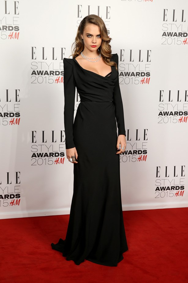 Cara Delevingne at the ELLE Style Awards