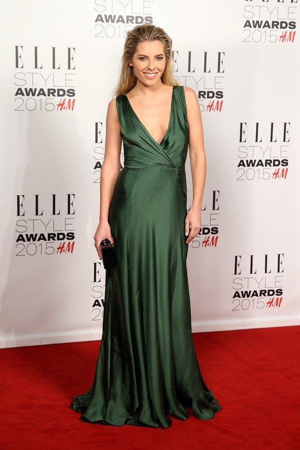 Mollie King at the ELLE Style Awards