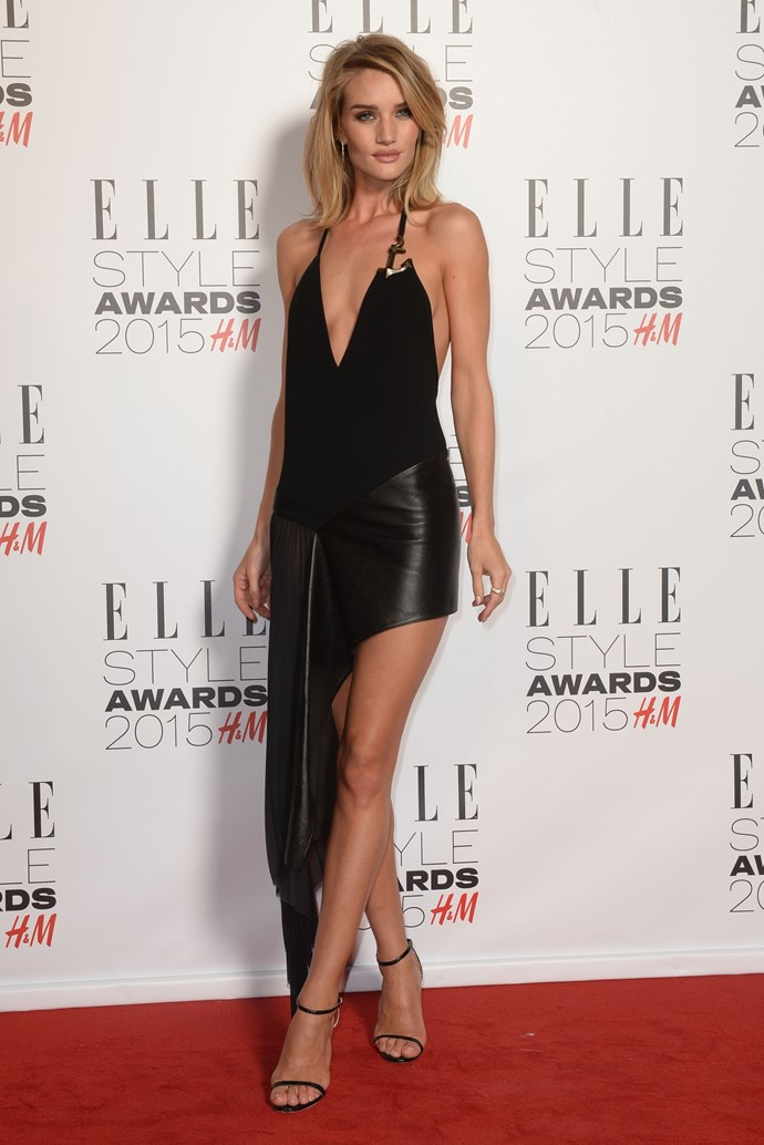 Rose Huntington-Whiteley at the ELLE Style Awards