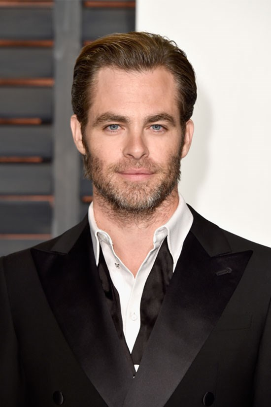 "<strong>Chris Pine</strong> Is it weird to have fantasies about your own imaginary boyfriend? No? Well then, this starry-eyed dreamboat of a man would certainly <a href=""http://www.elle.com/culture/celebrities/news/a26937/chris-pine-is-your-new-oscars-boyfriend/"">bring some more emotion</a> to the part."