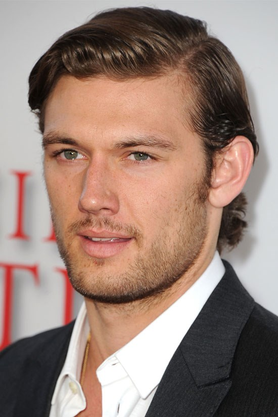 <strong>Alex Pettyfer</strong> Equipped with skills from <em>Magic Mike</em> and mesmerising green eyes.