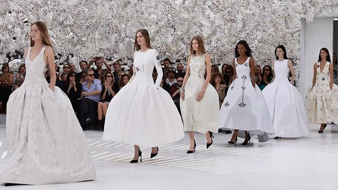 Celine Spring Summer 15 runway at Paris Fashion Week