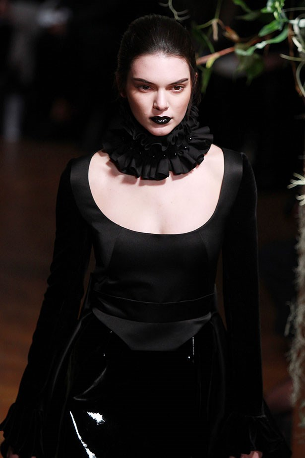 <strong>5. The Victoriana lip</strong><br></br> It's dark, it's gothic and it looks oddly appealing when seen on Kendall Jenner.