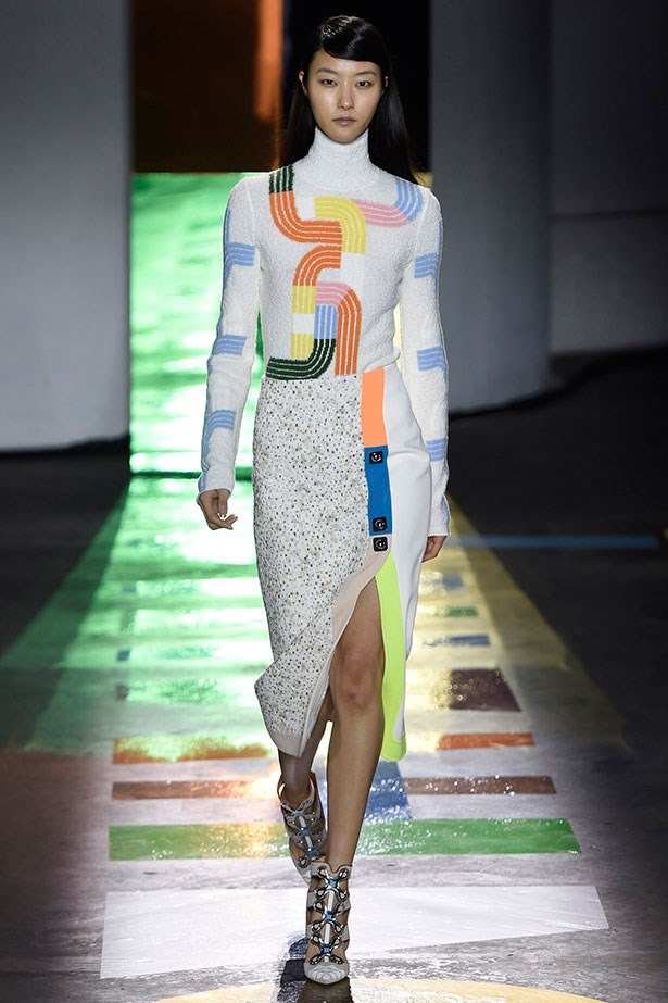 <strong>8. Child's play is encouraged</strong><br></br> Games like Ludo and Snakes and Ladders are making a return, at least on the Peter Pilotto runway. Have fun with it.