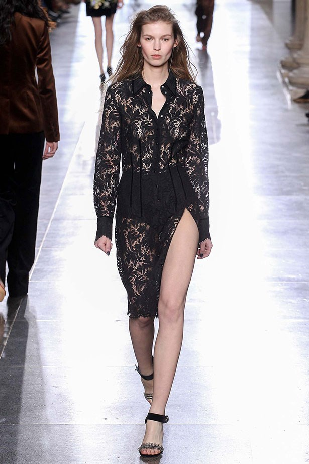 <strong>11. Lingerie is no longer your little secret</strong><br></br> It's on show. Not necessarily for the office, but intriguing all the same. Start with Topshop Unique for inspiration, then build upon the look as modesty dictates.