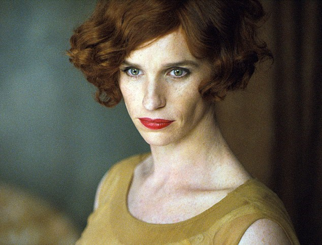 Eddie Redmayne as transgender pioneer Einar Wegener, who later became known as Lili Elbe