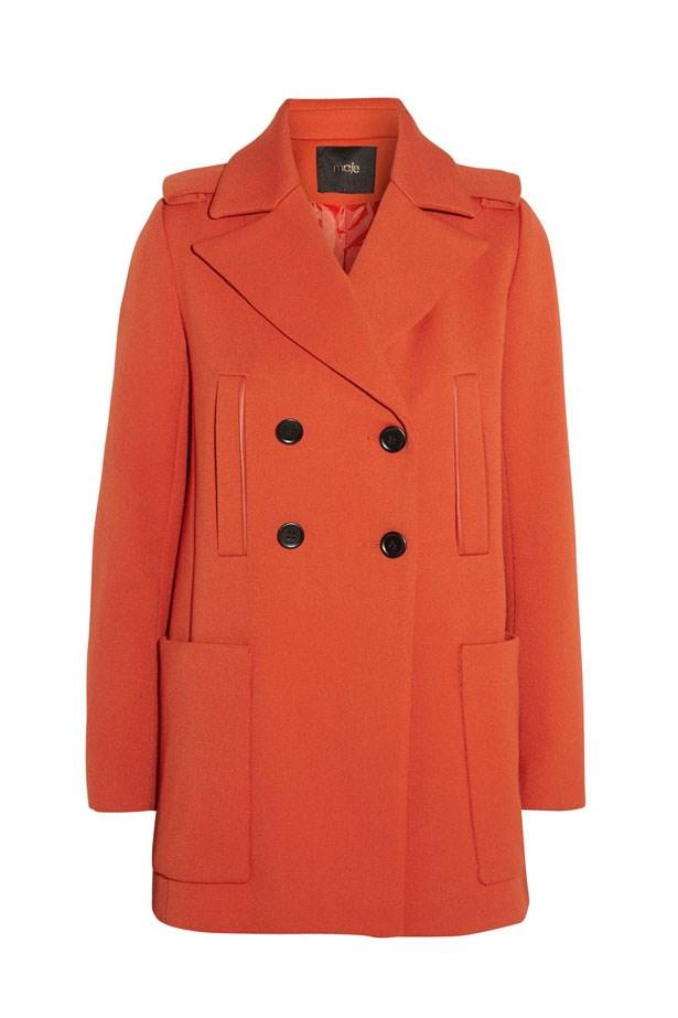 "Twill Coat, approx. $346, Maje, <a href=""http://www.theoutnet.com/en-AU/"">theoutnet.com</a>"
