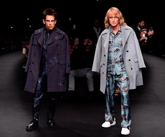 Zoolander's Ben Stiller and Owen Wilson rule the runway