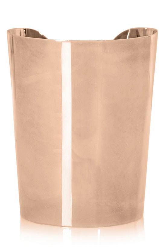 "Rose gold-tone cuff, $277, Giuseppe Zanotti, <a href=""http://www.theoutnet.com/en-AU/product/Giuseppe-Zanotti/Rose-gold-tone-cuff/544870"">www.theoutnet.com</a>"