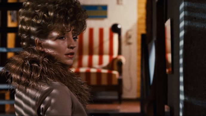 <strong>THE BITTER TEARS OF PETRA VON KANT (1972)</strong> Rainer Werner Fassbinder's film of unrequited love and multiple wardrobe changes tells the story of Petra von Kant, a successful designer, falling for an aspiring model, Karin Thimm, in one impeccably decorated home. Note: If those fur-trimmed coats and silk dresses look familiar, the film lent inspiration to Miuccia Prada's fall 2014 show.