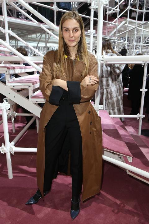 <strong>GAIA REPOSSI</strong> At Christian Dior.