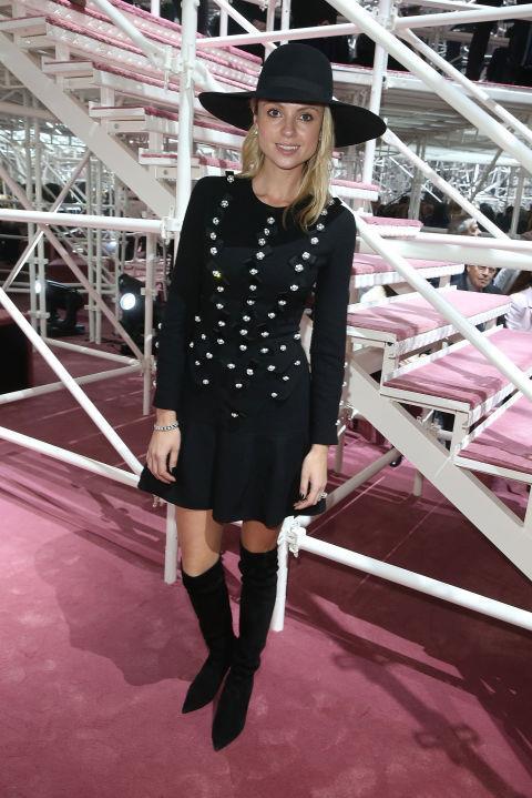 <strong>KRISTINA BAZAN</strong> At Christian Dior.