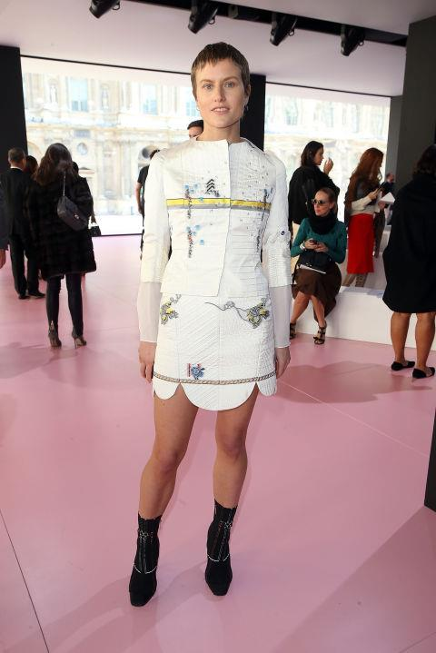 <strong>OLYMPIA SCARRY</strong> At Christian Dior.