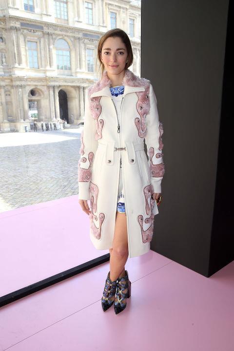 <strong>SOFIA SANCHEZ BARRENECHEA</strong> At Christian Dior.