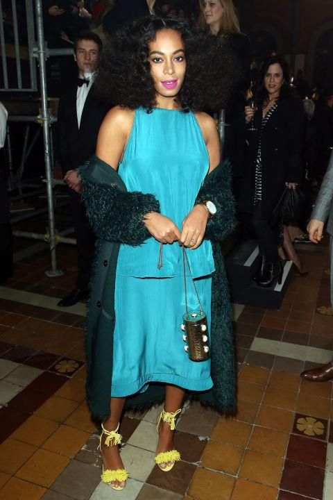 <strong>SOLANGE KNOWLES</strong> At Lanvin.