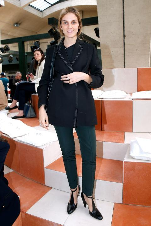 <strong>GAIA REPOSSI</strong> At Céline.
