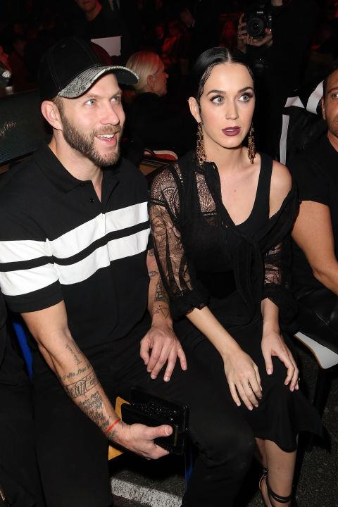 <strong>JOHNNY WUJEK AND KATY PERRY</strong> At Givenchy.