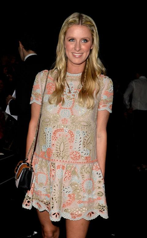 <strong>NICKY HILTON</strong> At Valentino.