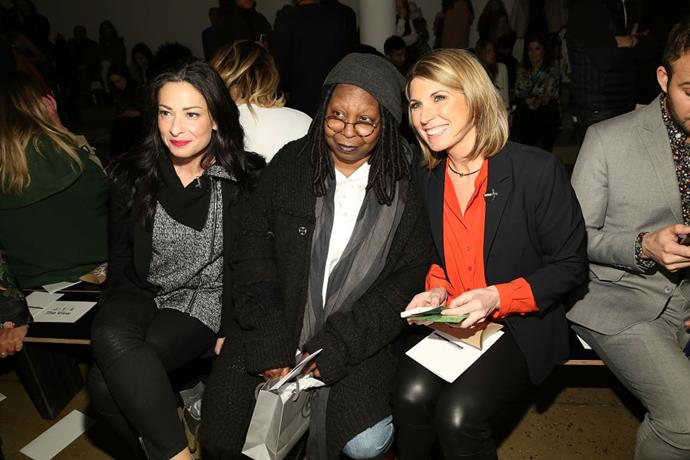 <strong>STACY LONDON, WHOPPI GOLDBERG AND NICOLLE WALLACE</strong> At Marissa Webb.