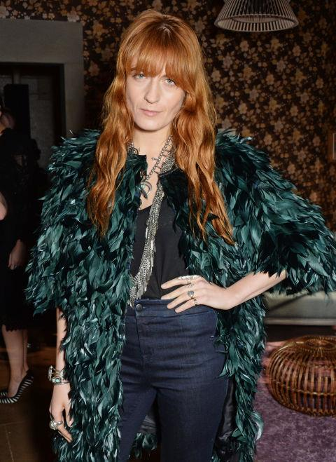 <strong>FLORENCE WELCH</strong> At Erdem.