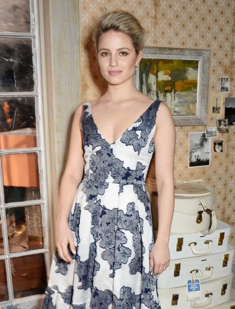 <strong>DIANNA AGRON</strong> At Erdem.