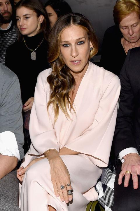 <strong>SARAH JESSICA PARKER</strong> At Tome.