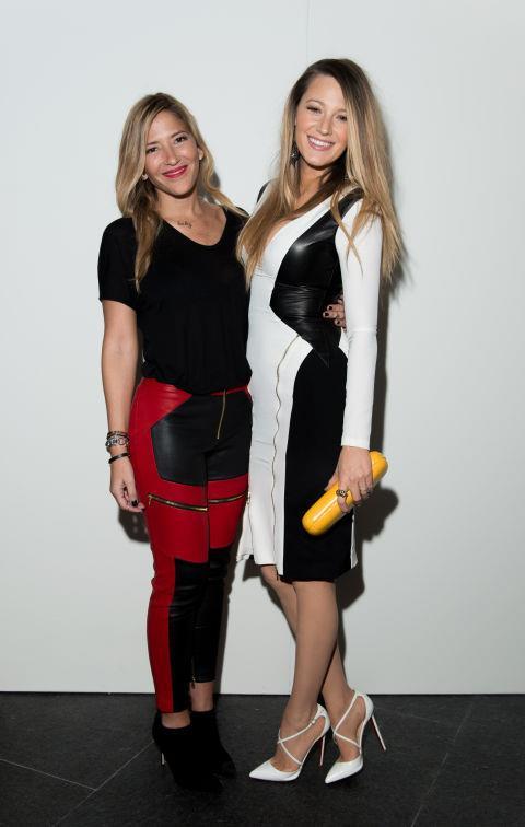<strong>GABRIELA CADENA AND BLAKE LIVELY</strong> At Gabriela Cadena.