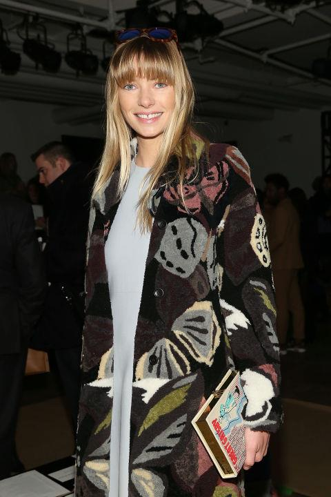 <strong>JESSICA HART</strong> At Wes Gordon.