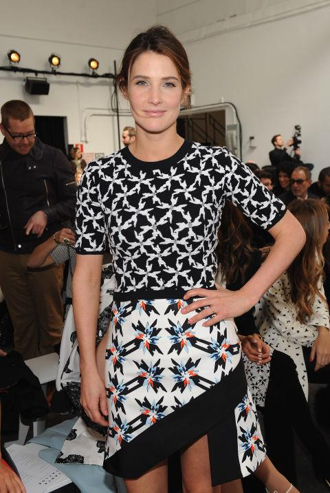 <strong>COBIE SMULDERS</strong> At Tanya Taylor.